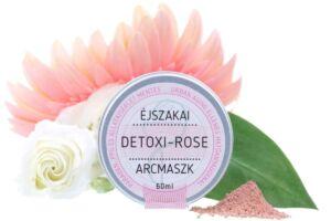 Detoxi-Rose éjszakai arcmaszk